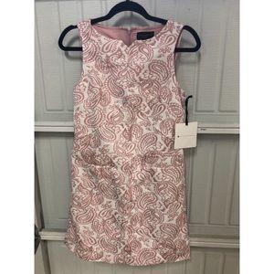 Victoria Beckham paisley rose shift dress, xsmall